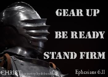 Armor Up ~ CHRISTian poetry by deborah ann