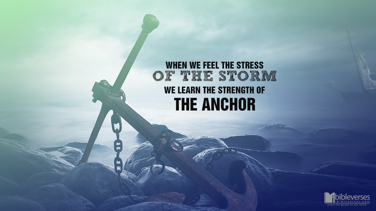 words to the anchor holds