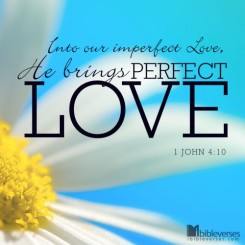 God's Perfect Love ~ CHRISTian poetry by deborah ann ~