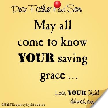 STICKY NOTE TO GOD ~ CHRISTian poetry by deborah ann ~ 02.05.16 ~