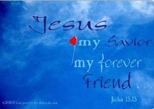 You Got A Friend in Jesus ~ CHRISTian poetry by deborah ann