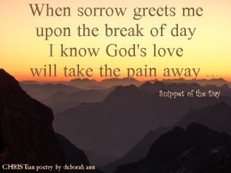 God's Steadfast Love ~ CHRISTian poetry by deborah ann