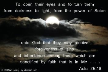 Saving Light ~ CHRISTian poetry by deborah ann
