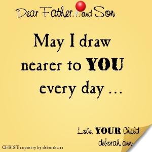 STICKY NOTE TO GOD ~ CHRISTian poetry by deborah ann ~ 02.21.16 ~
