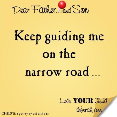STICKY NOTE TO GOD ~ CHRISTian poetry by deborah ann  ~ 02.24.16 ~