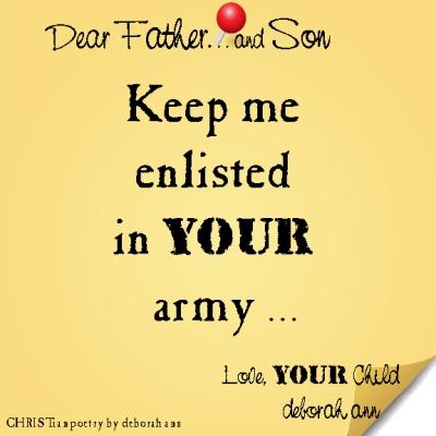 STICKY NOTE TO GOD ~ CHRISTian poetry by deborah ann ~ 02.29.16 ~