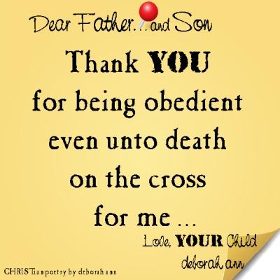 STICKY NOTE TO GOD ~ CHRISTian poetry by deborah ann ~ 03.22.16 ~