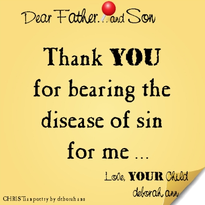 STICKY NOTE TO GOD ~ CHRISTian poetry by deborah ann ~ 03.23.16 ~