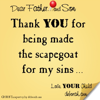 STICKY NOTE TO GOD ~ CHRISTian poetry by deborah ann ~03.24.16 ~