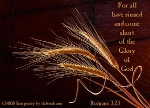 We're all Sinners ~ CHRISTian poetry by deborah ann