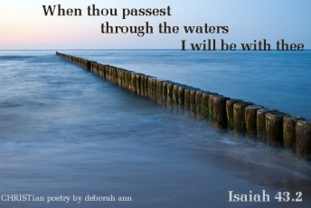 Deep Waters ~ CHRISTian poetry by deborah ann