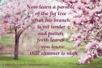 Springtime Treat ~ CHRISTian poetry by deborah ann