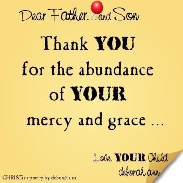 STICKY NOTE TO GOD ~ CHRISTian poetry by deborah ann ~ 04.16.16 ~