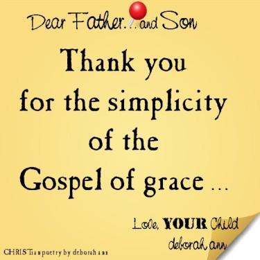 STICKY NOTE TO GOD ~ CHRISTian poetry by deborah ann ~ 04.18.16 ~