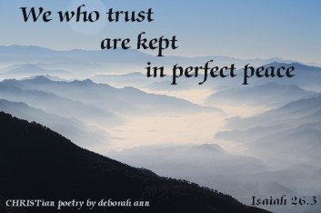 This is A Test ~ CHRISTian poetry by deborah ann