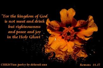 Blissfulness ~ CHRISTian poetry by deborah ann