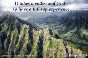 God of The Hills ~ CHRISTian poetry by deborah ann