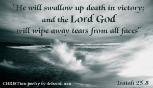 Grief is Like An Ocean ~ CHRISTian poetry by deborah ann