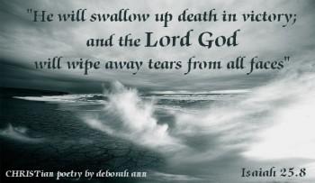 Grief is Like An Ocean ~ CHRISTian poetry by deborah ann