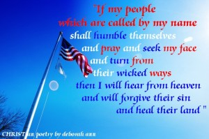 If The United States ~ CHRISTian poetry by deborah ann