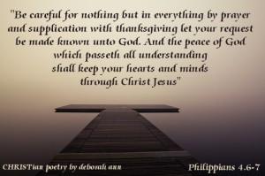If We Want Peace ~ CHRISTian poety by deborah ann
