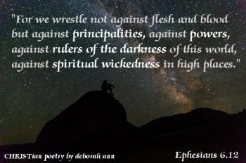 In It To Win It ~ CHRISTian poetry by deborah ann