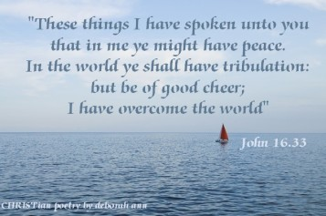 Smooth Sailing ~ CHRISTian poetry by deborah ann