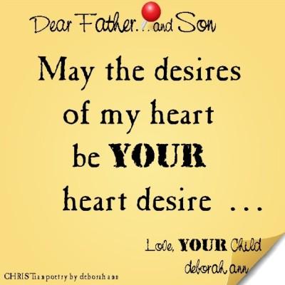 STICKY NOTE TO GOD ~ CHRISTian poetry by deborah ann ~ 05.21.16 ~