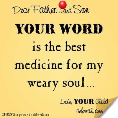 STICKY NOTE TO GOD ~ CHRISTian poetry by deborah ann ~ 05.28.16 ~