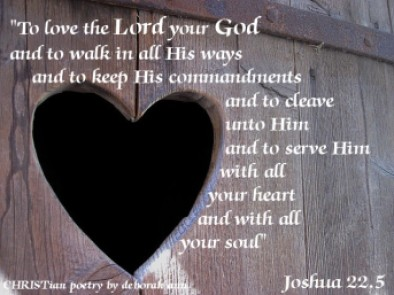 With All My Heart ~ CHRISTian poetry by deborah ann