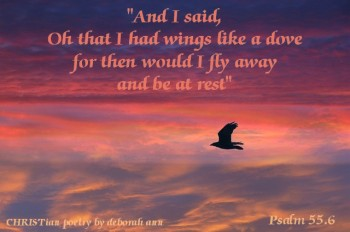 Above the Clouds ~ CHRISTian poetry by deborah ann
