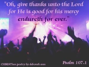 I Love, Loving God ~ CHRISTian poetry by deborah ann