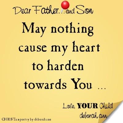 STICKY NOTE TO GOD ~ CHRISTian poetry by deborah ann ~ 06.03.16 ~