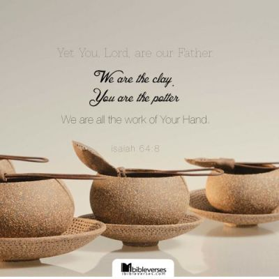We Are the Clay ~ CHRISTian poetry by deborah ann