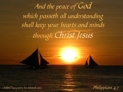 Finding Peace ~ CHRISTian poetry by deborah ann
