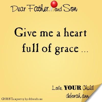 STICKY NOTE TO GOD ~ CHRISTian poetry by deborah ann ~ 07.13.16 ~