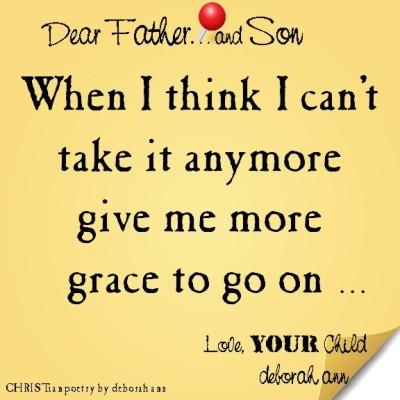 STICKY NOTE TO GOD ~ CHRISTian poetry by deborah ann ~07.23.16 ~