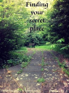 That Secret Place ~ CHRISTian poetry by deborah ann
