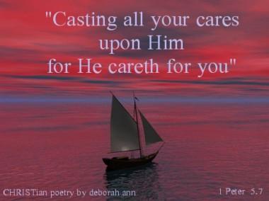 Cares Unbound ~ CHRISTian poetry by deborah ann