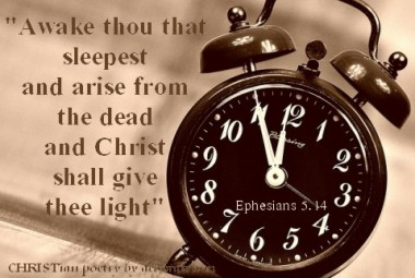 Sleeping Saints ~ CHRISTian poetry by deborah ann