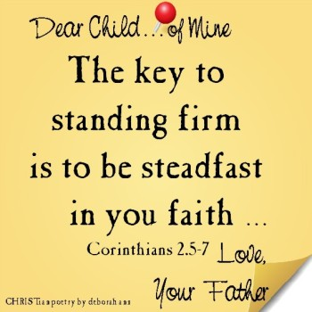 Sticky Note From God ~ CHRISTian poetry by deboran ann ~ 08.28.16 ~