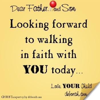 STICKY NOTE TO GOD ~ CHRISTian poetry by deborah ann ~ 08..05.16 ~