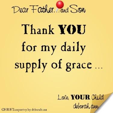 STICKY NOTE TO GOD ~ CHRISTian poetry by deborah ann ~ 08.09.16 ~