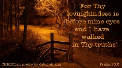 Thank You God ~ CHRISTian poetry by deborah ann