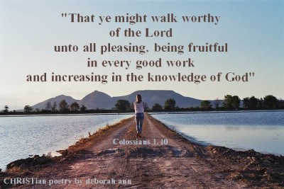 a-walk-that-is-worthy-christian-poetry-by-deborah-ann