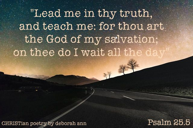The Path of Truth ~ | CHRISTian poetry ~ by deborah ann