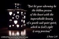 Imperishable Beauty ~ CHRISTian poetry by deborah ann