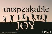 Unshakable Joy ~ CHRISTian poetry by deborah ann