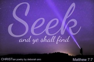 Hello God ~ CHRISTian poetry by deborah ann