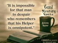 good morning quotes ~ christian poetry by deborah ann belka~ 02.02.19 ~